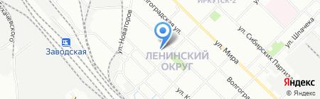 ДорЭм на карте Иркутска