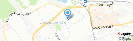 Детский сад №139 на карте Иркутска
