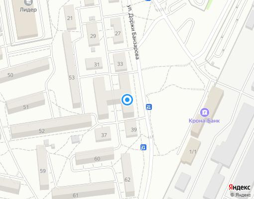 Управляющая компания «На Банзарова» на карте Иркутска