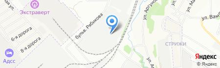 Авантаж-Студия на карте Иркутска