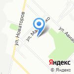 Средняя общеобразовательная школа №34 на карте Иркутска