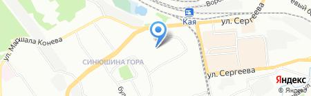 Средняя общеобразовательная школа с углубленным изучением отдельных предметов №2 на карте Иркутска