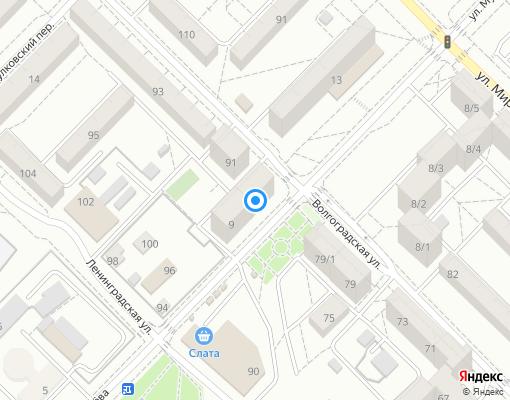 Товарищество собственников жилья «Взлёт» на карте Иркутска