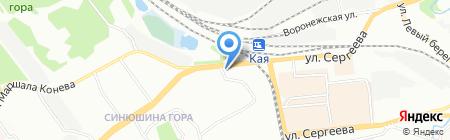 Over Drive на карте Иркутска