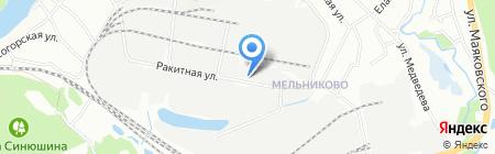 Кузня Тютрина на карте Иркутска