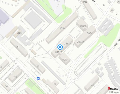 Управляющая компания «ИРКУТ» на карте Иркутска