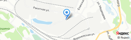 АвтоЛэнд на карте Иркутска