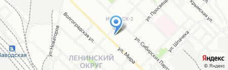 Fresh Tourism на карте Иркутска