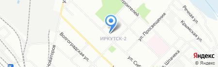 Доминанта на карте Иркутска