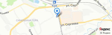 Исправительная колония №6 на карте Иркутска