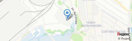 РСК на карте Иркутска