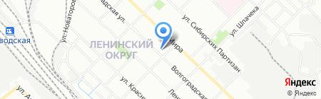 Детский сад №161 на карте Иркутска
