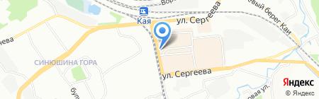 Карс на карте Иркутска