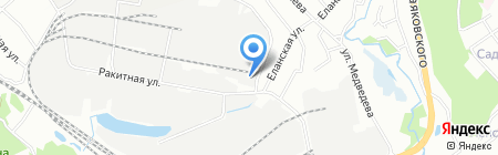 Первая Объединенная Шинная Компания на карте Иркутска