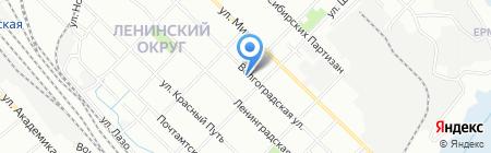 Мировые судьи Ленинского округа г. Иркутска на карте Иркутска