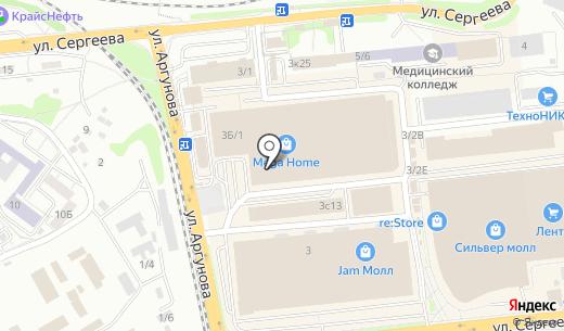 Банкомат АК Байкалбанк. Схема проезда в Иркутске