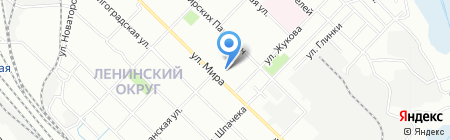 Детский сад №145 на карте Иркутска