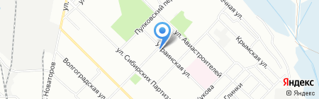 Лилу на карте Иркутска