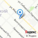 Средняя общеобразовательная школа №49 на карте Иркутска