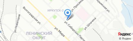 Классик на карте Иркутска