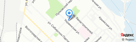 Квартал на карте Иркутска