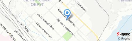 ИрТайм на карте Иркутска