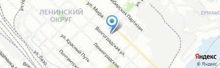 Детский сад №90 на карте Иркутска