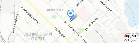 Чудеса случаются на карте Иркутска