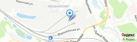 База Строй Оборудования на карте Иркутска