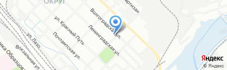 Юла на карте Иркутска