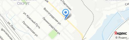 Аида на карте Иркутска