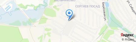 АРБУС ЭЛЕКТРИК на карте Иркутска