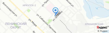 Участковый пункт полиции №4 8 отдел полиции на карте Иркутска