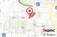 Схема проезда до компании Альтаир в Иркутске