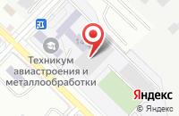 Схема проезда до компании  Акварель  в Иркутске