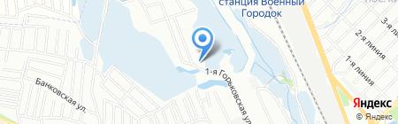 Зооцентр на карте Иркутска