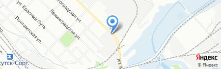Сибстроймаркет на карте Иркутска