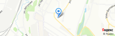 Лилия на карте Иркутска