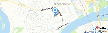 Авторские Бревенчатые Дома на карте Иркутска
