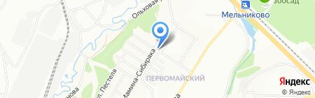 Уют на карте Иркутска
