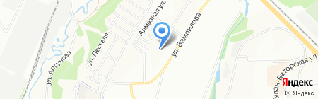 Имидж на карте Иркутска