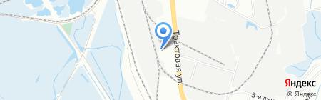 Титан на карте Иркутска