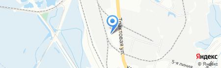 МиКо на карте Иркутска