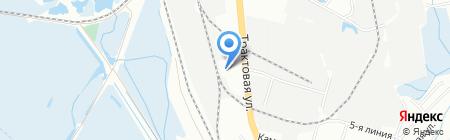 БайкалСпецТехника на карте Иркутска