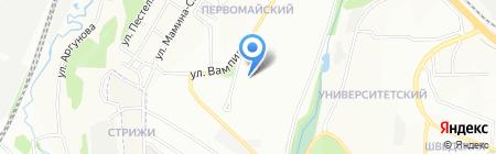 Aleksa на карте Иркутска