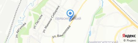 Магия на карте Иркутска