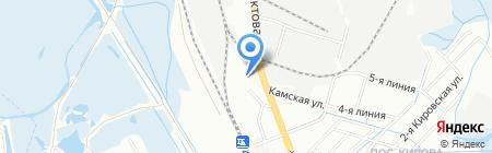 ТехноТранс на карте Иркутска
