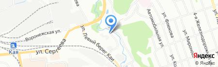 Гидромашсервис на карте Иркутска