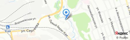 AirBarter на карте Иркутска