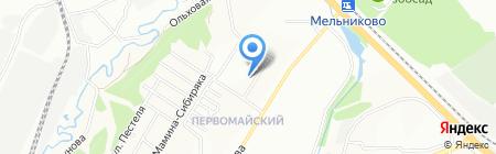 Кобукан на карте Иркутска